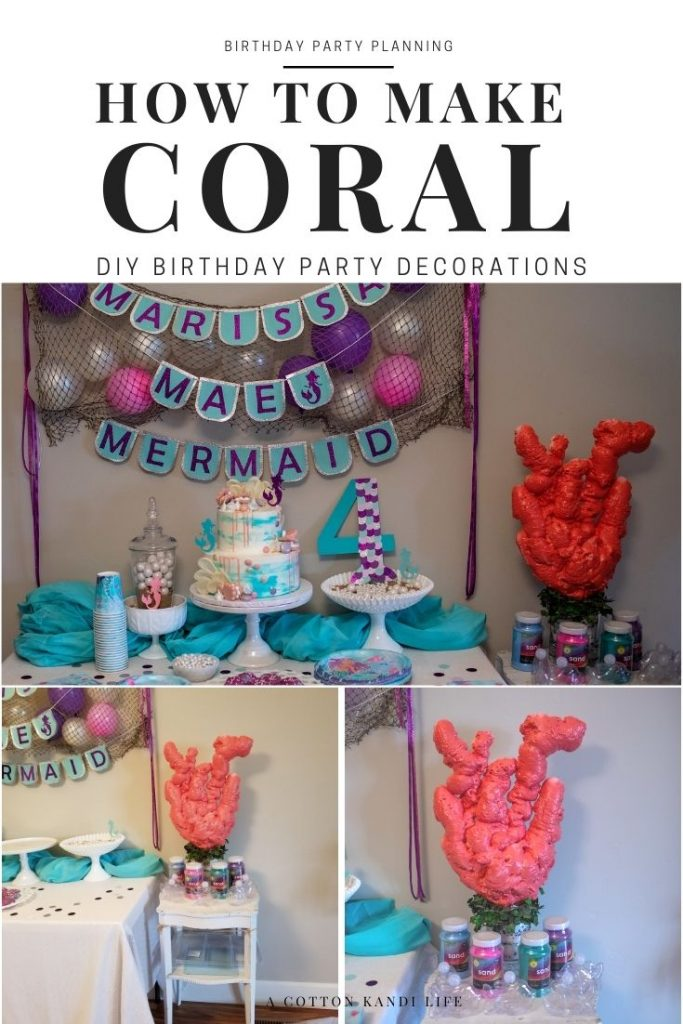 How to Make Coral using Spray Foam Insulation. Build your own Coral Reef for a Mermaid Party Theme or Ocean Week at School! DIY Coral can line the hallways for your VBS Theme or be the perfect decoration for your Luau Baby Shower.  * Coral DIY Guide, Tutorial. Ocean Party, Australia, Great Barrier Reef Project, Ocean Floor Science Project Ideas.